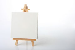 Artists canvas Stock Photo