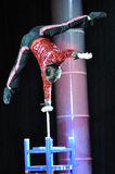 Artists of Chinese circus Stock Photos