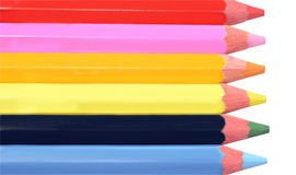 Artists Colored Pencils Royalty Free Stock Images