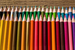 Artists Colored Pencils Stock Images