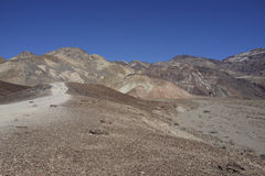 Artists Drive in Death Valley Stock Photography