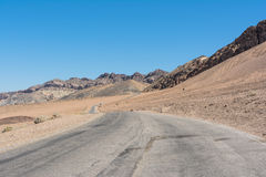 Artists Drive in Death Valley, California Royalty Free Stock Photo