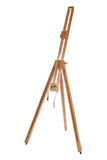 Artists easel. Isolated studio cutout Stock Photography