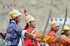 Artists on Festival of Ladakh Heritage Royalty Free Stock Image