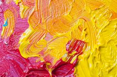 Artists oil paints color background Stock Photography