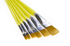 Artists paint brushes Stock Images