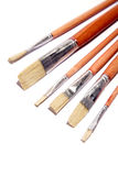 Artists paint brushes stock photography