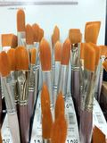 Artists paint brushes Royalty Free Stock Photography