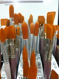 Artists paint brushes 2 Stock Photos