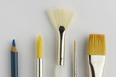 Artists Paintbrushes Stock Images