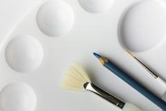Artists Paintbrushes Royalty Free Stock Photos