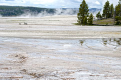 Artists Paintpots Yellowstone National Park, Wyoming Royalty Free Stock Image
