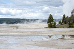 Artists Paintpots Yellowstone National Park, Wyoming Royalty Free Stock Photos