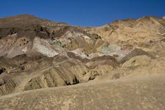 Artists palette  in Death Valley Stock Images