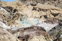 Artists Palette in Death Valley Royalty Free Stock Image