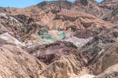 Artists Palette in Death Valley, California Royalty Free Stock Image