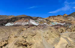 Artists Palette in Death Valley Royalty Free Stock Photography