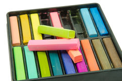 Artists Pastels Stock Image