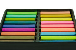 Artists Pastels Royalty Free Stock Photos