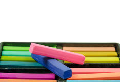 Artists Pastels Stock Photography