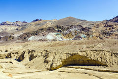 Artists Point Along Artists Drive, Death Valley National Park Stock Photography