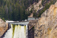 Artists point waterfall - Yellowstone National Park Royalty Free Stock Photo