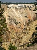Artists' Point in Yellowstone Royalty Free Stock Photography