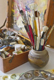 Artists Tools of the Trade Royalty Free Stock Image
