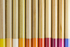 Artists wooden pencils Stock Image