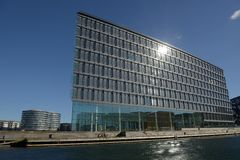 Artitecture moderne Copenhague Photo stock