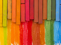Artitic crayons Royalty Free Stock Photo