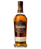 Arton år gammal enkel malt kväv whiskyglenfiddich royaltyfria bilder