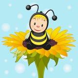 Сartoon bee Royalty Free Stock Image