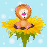 Сartoon Lion Stock Photography