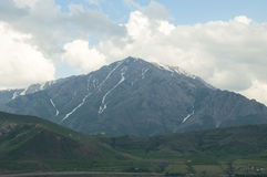Artos Mountain. View of the mountain Artos from Lake Van Royalty Free Stock Image