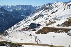 Artouste ski resort Royalty Free Stock Photography
