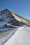 Artouste ski resort Royalty Free Stock Photos