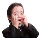 Żartować dziecka obrazy stock