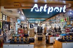 Artport New Zealand Souvenir Shop Stock Photo
