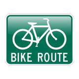 artère de vélo Photo stock