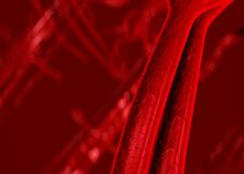 Artérias do sangue veias Imagens de Stock Royalty Free