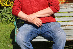 Artrit smärtsamma handleder Upprepande belastning royaltyfria bilder