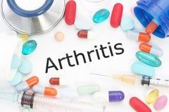 artrite Fotografie Stock