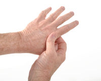 Artritis Stock Foto's