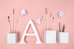 Arts, étude et créativité photos stock