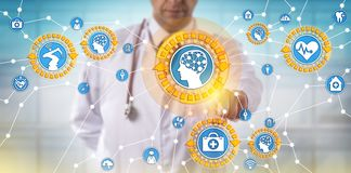 Arts Activating Medical Things via Internet royalty-vrije stock foto