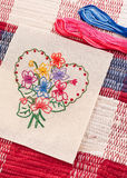 Arts And Crafts ( Sewing ) Royalty Free Stock Photos