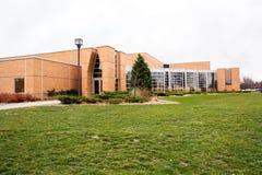 Arts building on a university campus Stock Photos