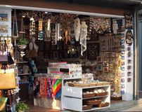 Arts and Craft Store in Taiwan Stock Image