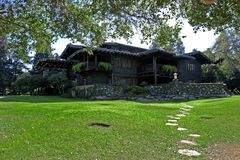 Arts & Crafts Architecture. Arts & Crafts Architecture - Gamble house historic site Stock Images
